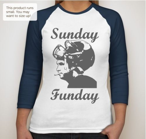 Sunday Funday with Smoking Jay Cutler Chicago Bears shirt. A personal favorite from my Etsy shop