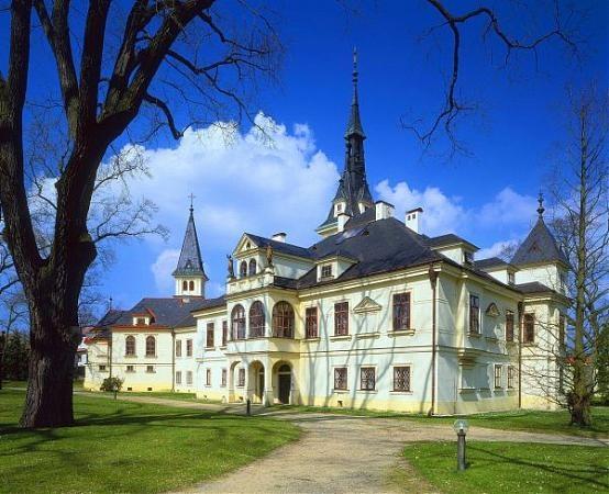 Lužany Chateau, Czech Republic