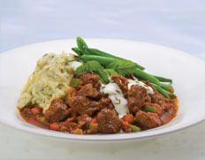 Turkish Lamb and Mashed Potatoes