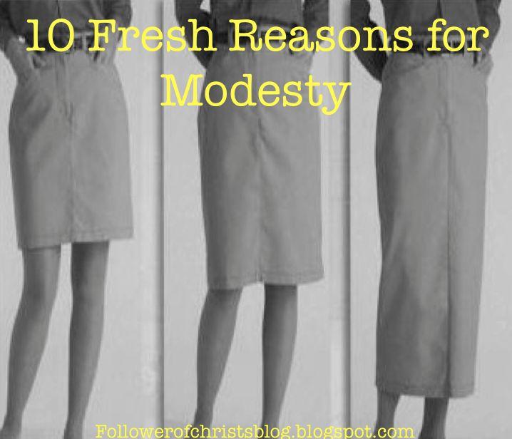 Follower of Christ's Blog: Christian Modesty