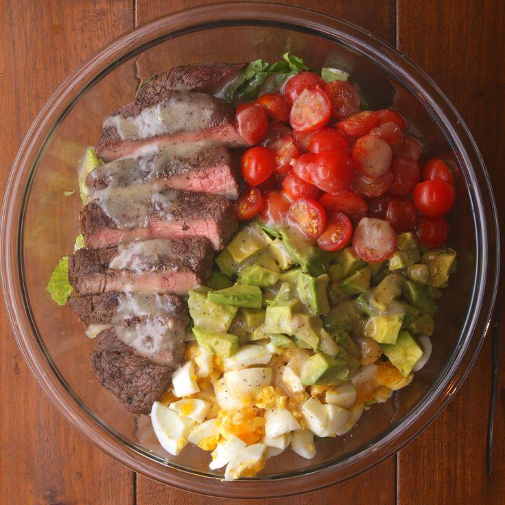 DINNER DAY 2 - THURSDAY  Steak And Avocado Salad