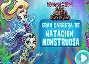 MH El gran Arrecife Monstruoso Carrera de Natacion Monstruosa