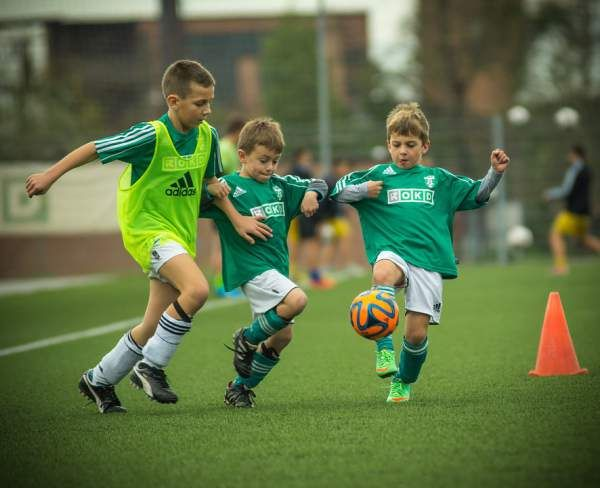 Soccer drills for kids – Quick passing
