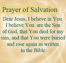 salvation prayers -