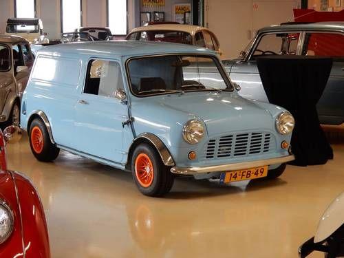 Classic Mini 1000 Van 1978 LHD (picture 1 of 6)