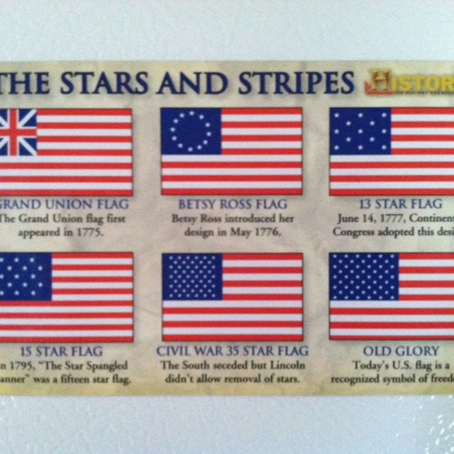 interesting facts about american flags Betsy ross did not design the first american flag  another fun fact: students  used to salute the flag with their right palms downward and.