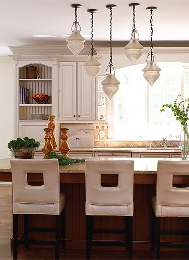 Kitchen Area Pendant Light Fixtures Lighting Arrangement Comfy Counter Stools Traditional With