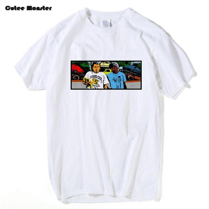 Pulp Fiction Vince T shirt Men Saint Jules Print T shirt 2017 Summer Short Sleeve Quentin Tarantino Tops Tees