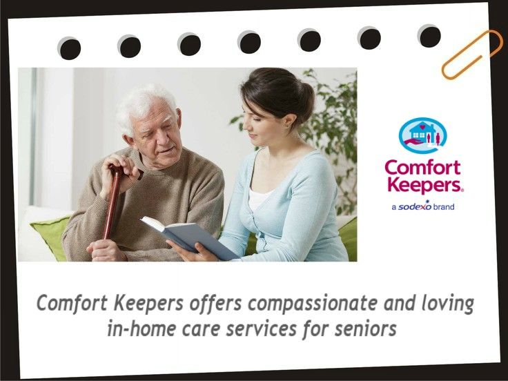 Comfort Keepers is a leading in-home care provider for seniors, veterans, and other adults who need assistance to perform activities of daily living but do not want to leave their home for assisted living.