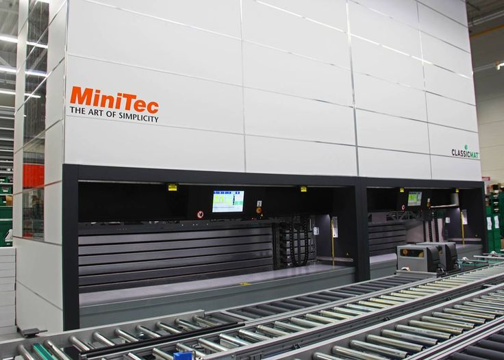 Very clever solution by our#EffiCustomer Minitec in Germany and its orderedClassicMats. After getting all desired parts out of the ClassicMat operators will collect them in boxes on the conveyor system in front…