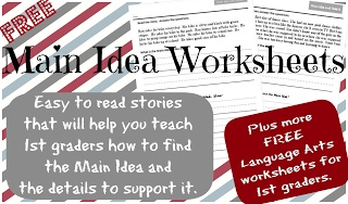 Free Main Idea Practice Printables , Guided Reading and Comprehension Pages-   Pinned by @PediaStaff – Please Visit ht.ly/63sNtfor all our pediatric therapy pins
