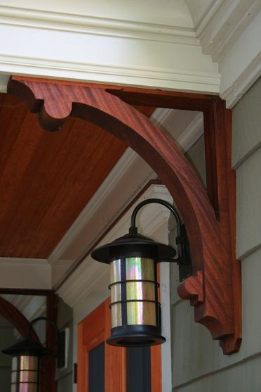 75 best images about home exterior on pinterest - Craftsman style exterior trim details ...