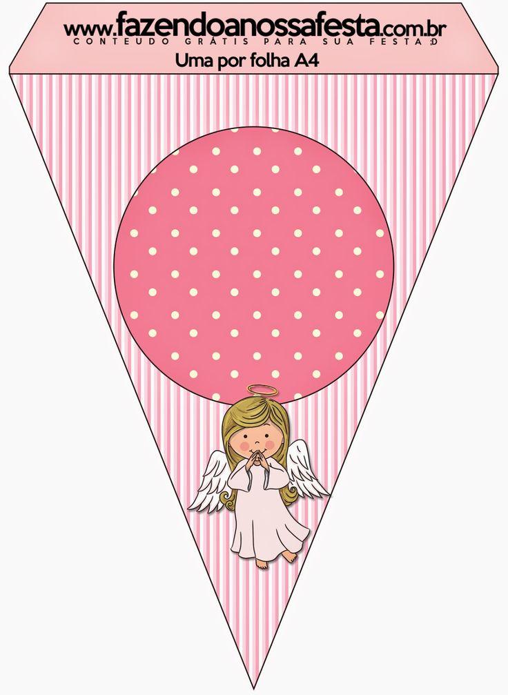 Angelita: Imprimibles y Fondos Gratis para Fiestas.