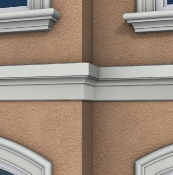 17 best images about exterior foam wall bands on pinterest - Exterior decorative foam molding ...