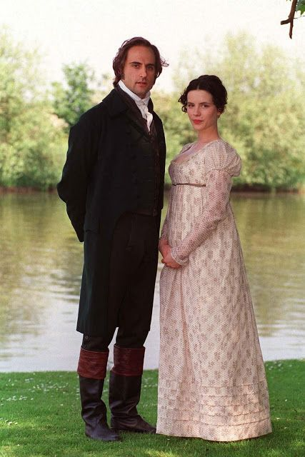 Mark Strong (Mr. Knightley) & Kate Beckinsale (Emma Woodhouse) - Emma directed by Diarmuid Lawrence (TV Movie, 1996) #janeausten