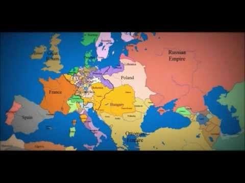 tak zmieniały się granice państw