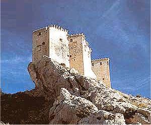 Castillo de Mula Murcia Spain.