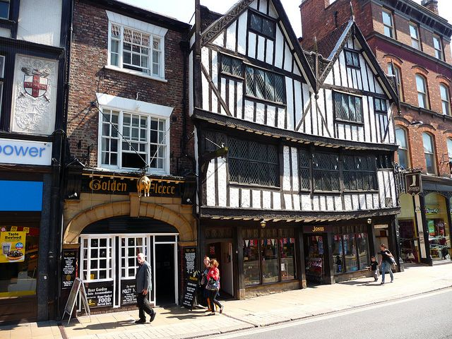 Most Haunted York pub- The Golden Fleece. For more information: www.thegoldenfleeceyork.co.uk