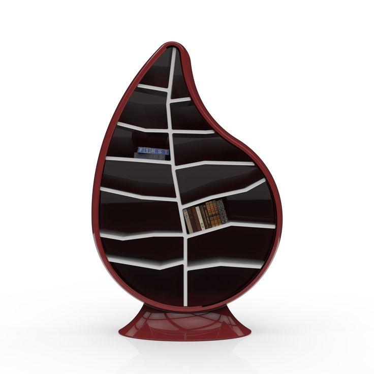 #Libreria design moderno Lady Made in Italy, con numero di serie inciso. By Viadurini Design. [www.viadurini.it]