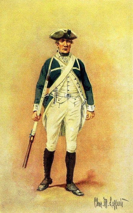 The Royal Greens, Johnson's Royal Regiment of New York, 1776