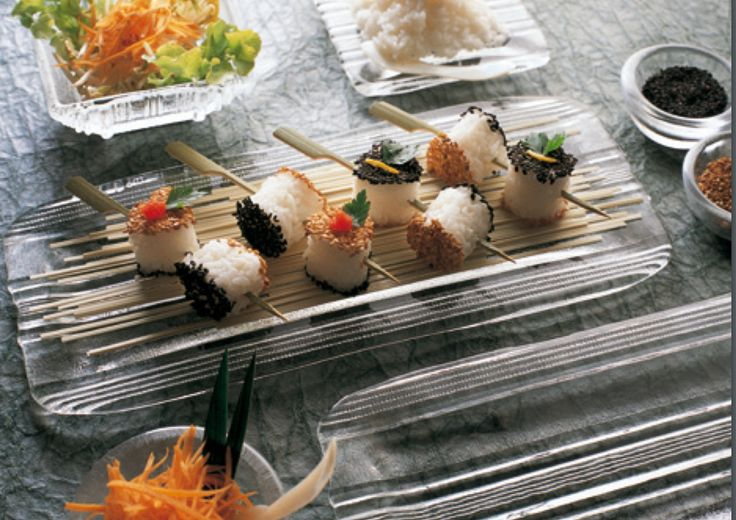 do you like sushi and sea food? See our nice plate for sushi and sea food it's handmade, made in Italy, save in dishwasher  www.wadjetworldwide.com Or visit our store in Natick mall Natick,MA