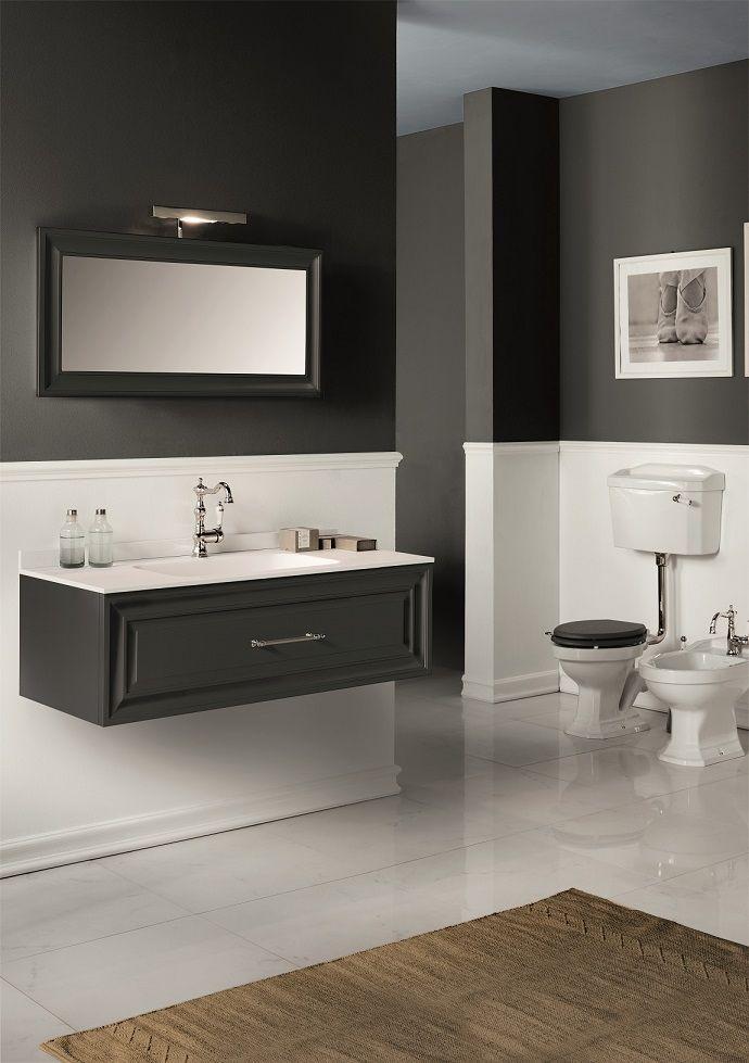 Composizione Prospettiva #GaiaMobili #gaia #bathroom #bagno #bathroomideas #bath #madeinitaly #italian #bathroompics #architect #interior #interiordesign #designer #furniture #wood #laccato #ral #lacquered #arredamento #showroom #mirror #luxurybathroom #classic #classicbathroom #arredobagno #mobiledabagno #italianstyle