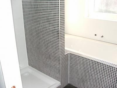 even onthouden voor de kleine badkamer