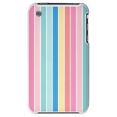 Pop Style Color Stripe - iPhone 3G Hard Case