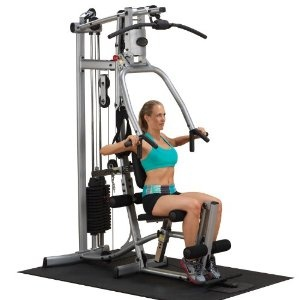 $858.00 (CLICK IMAGE TWICE FOR UPDATED PRICING AND INFO)  Powerline P1X Single Stack Home Gym. See More Home Gym Exercise Machines at http://www.zbuys.com/level.php?node=3865=home-gym-exercise-machines