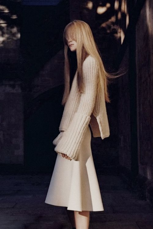 céline | olympia campbell by david sims for vogue paris
