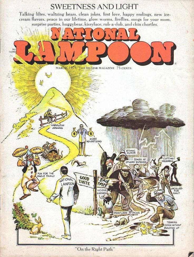 March 1973 issue of National Lampoon Magazine.