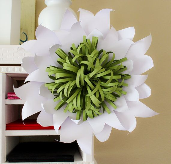 Paper Flower Backdrop, Giant Paper Flower, Wedding Backdrop, Wedding Centerpiece