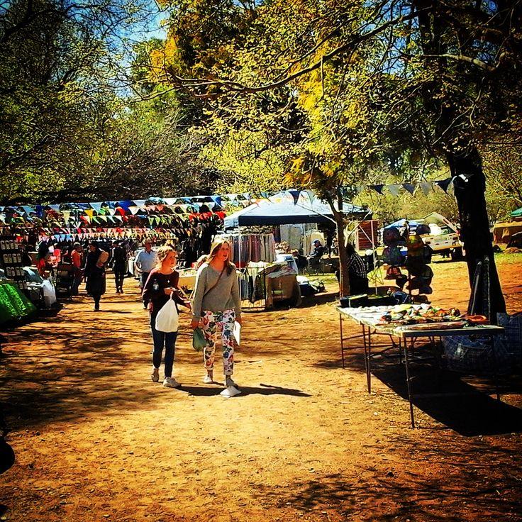Scenery of the Irene Village Market in Tshwane