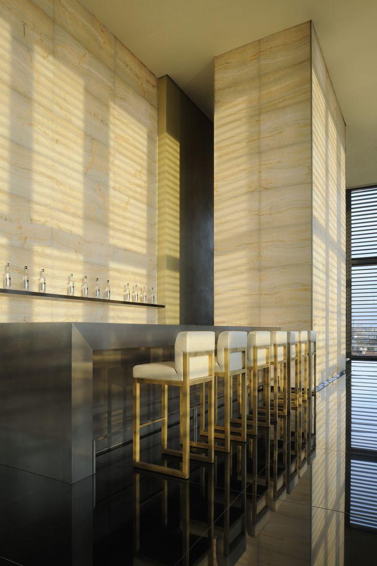 #Atribute to Design: Bamboo Bar. Armani Hotel in Milan. Photo by Gionata Xerra. More on Armani.com/Atribute