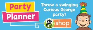 Pbs' ideas for Curious George party