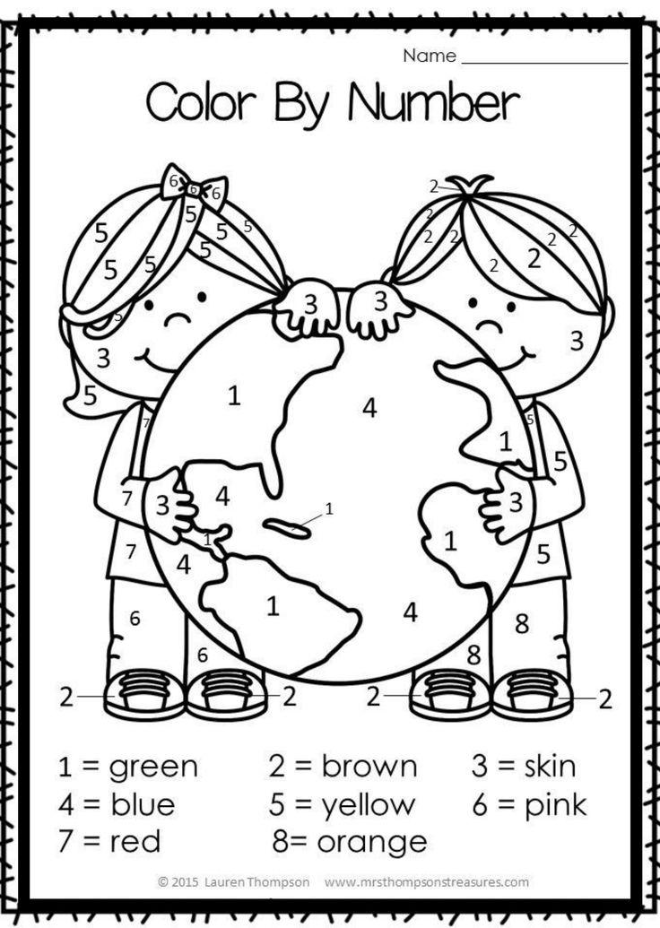 Earth day worksheet for preschool in 2020 earth day