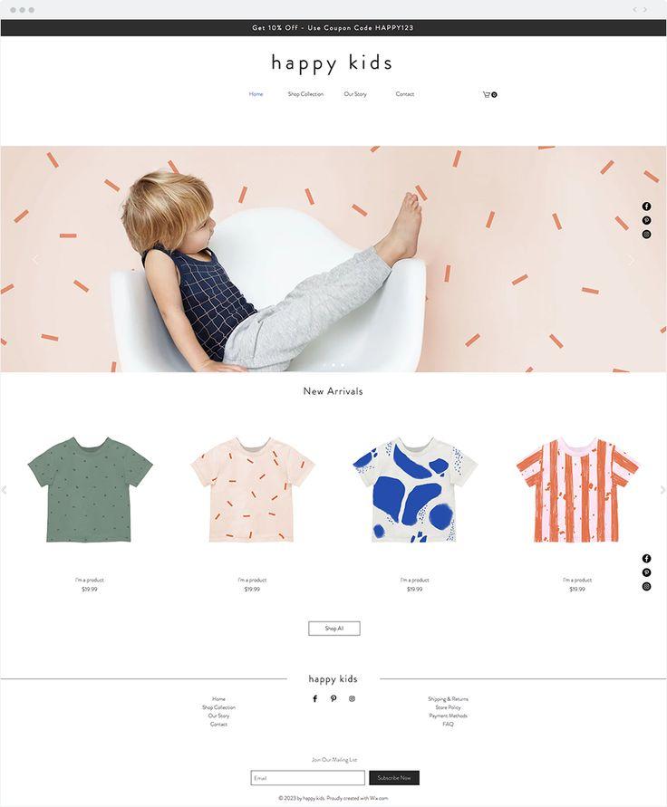 603 Best Wix Website Templates Images On Pinterest
