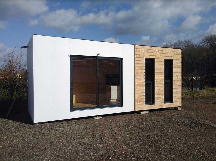 Les 25 meilleures id es de la cat gorie maisons en bois for Architecture modulaire
