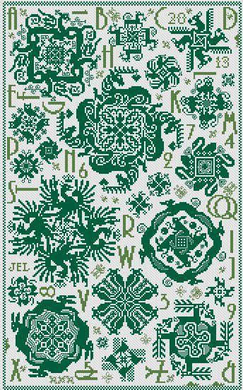 Merry-Go-Rounds  169 x 275 stitches  Price £6.50