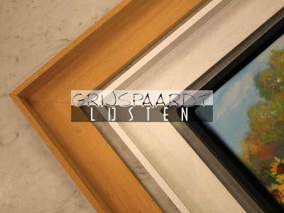 Baklijst hout maatwerk schilderijlijsten frames pinterest