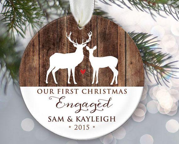 25 beautiful christmas engagement ornaments