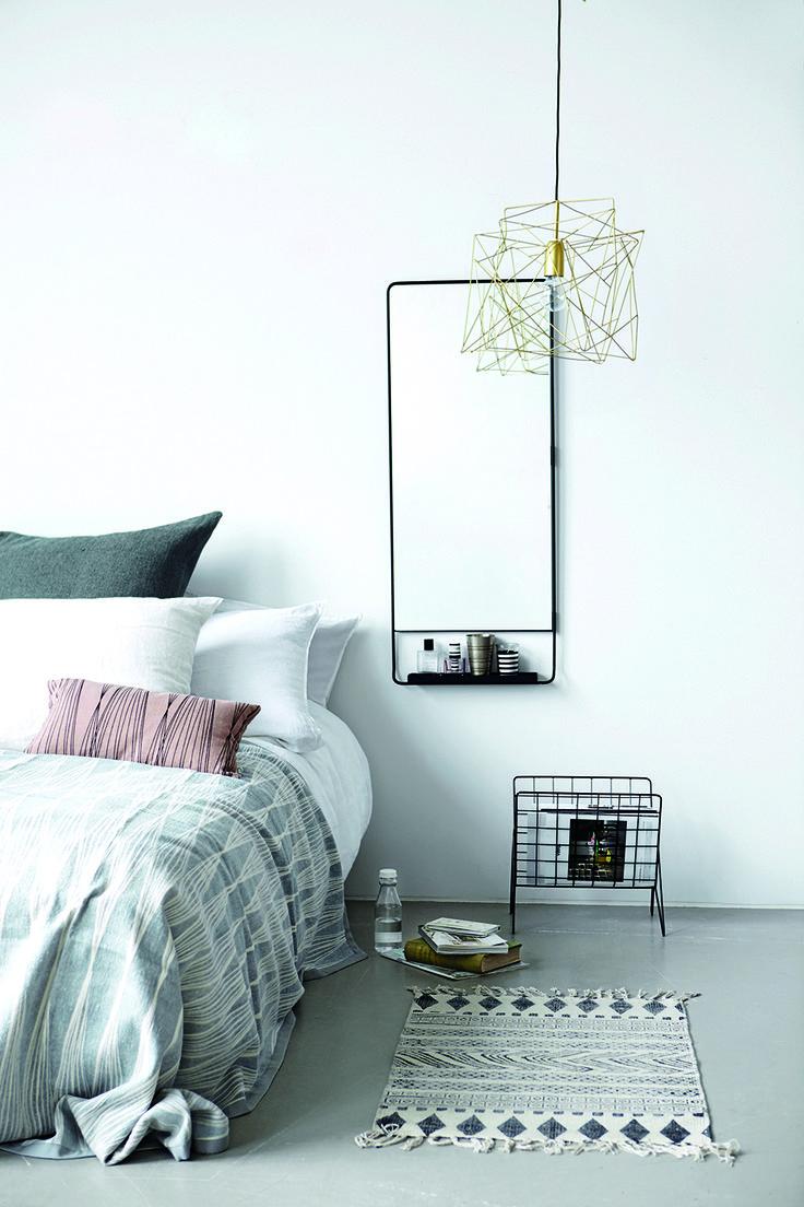 Decorar dormitorios de estilo nórdico.