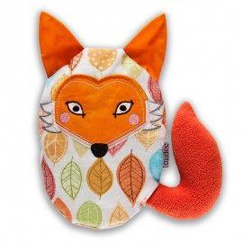 Liška Pája - nahřívací polštářek