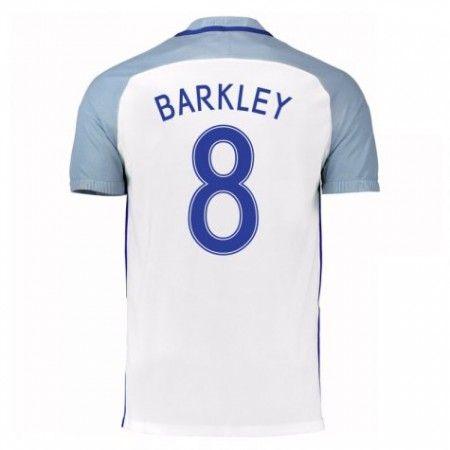 England 2016 Ross Barkley 8 Hjemmedrakt Kortermet.  http://www.fotballpanett.com/england-2016-ross-barkley-8-hjemmedrakt-kortermet-1.  #fotballdrakter