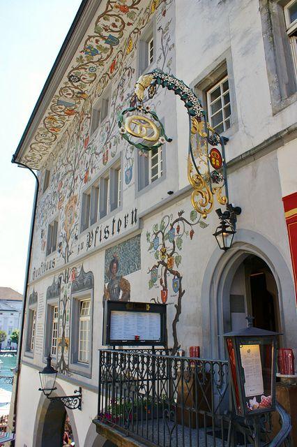 Lucerne architecture, Lucerne, Switzerland.  Photo: KarlGercens.com, via Flickr