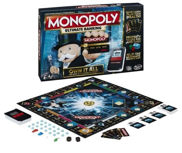 Monopoly The Classic Board Game Ultimate Banking Edition w/ Touch Technology New #Hasbro