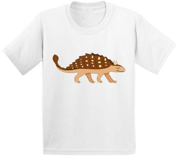 Ankylosaurus Dinosaur Shirt Toddler Shirt Dinosaur Tshirt For