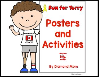 Terry Fox Posters and Activities   In Canada every September there is a Terry…