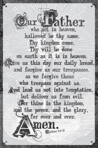 The Lord's PrayerThe Lord, Inspiration Education, Prayer For Guidance, Picture-Black Posters, Prayer Prints, Matthew 6 9 13, Christian Posters, Praying Prayer, Lord Prayer
