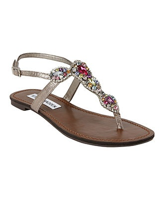 Steve Madden Shoes, Glaare Flat Sandals - Steve Madden - Shoes - Macy's-  perfect for my girls- I think so!